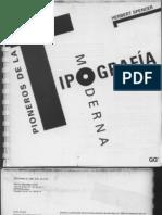 Spencer, Herbert - Pioneros de la Tipografía moderna
