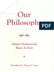 Our Philosophy Falsafatuna