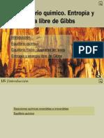 06 Equilibrio químico. Entropia y energia libre de Gibbs