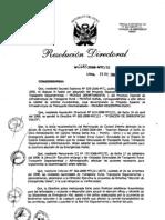 Directiva 006-2008 Atencion Emergencias Viales