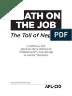 Death on the Job 2012