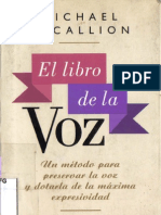El Libro de La.voz.- Michael McCallion
