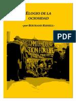 Elogio de la Ociosidad - Bertrand Russell
