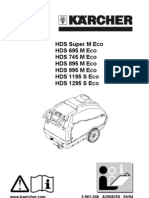 HDS 895 User Manual