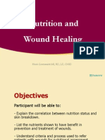 Nutrition Wound Healing10!20!10