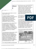 Celine McArthur documents regarding FSCJ nursing program