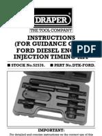 Inyeccion Ford Diesel Engine