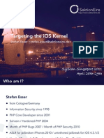 SysScan-Singapore-Targeting the IOS Kernel