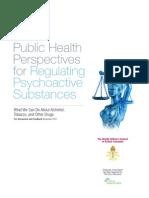 Public Health Perspectives for Regulating Psychoactive Substances