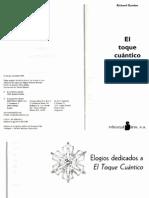 Libro - El Toque Cuantico, El Poder de Curar - Richard Gordon 126 p