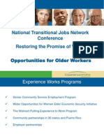 Opportunities for Older Workers