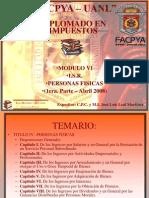 ISR Persona Fisicas Cap1 2008