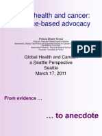 Global Health and Cancer