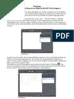 Bildergalerie Mit Mouseover Effekt in Magix Web Designer 6