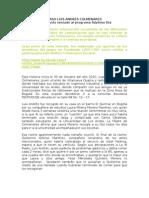 """CASO COLMENARES - Documento enviado al programa """"Séptimo Día""""."""