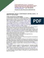 Manual de Apresentação do Leiaute da Escrituração Contábil Digital - SPED