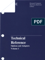 Technical Reference Options and Adapters Volume 1 Apr84
