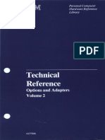 Technical Reference Options and Adapters Volume 2 Apr84