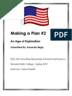 EDEL453 Spring 2012 gis History Unit Planner 4