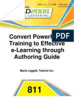 Convert PowerPoint to Effective eLearning