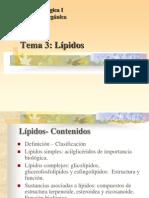 QBI - Tema 3 - Lipidos 2011