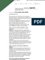 Folha de S.Paulo - Contestar ficou muito mais difícil - 16_09_2001