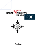 Phil Hine - (EN) Running Magical Workshops