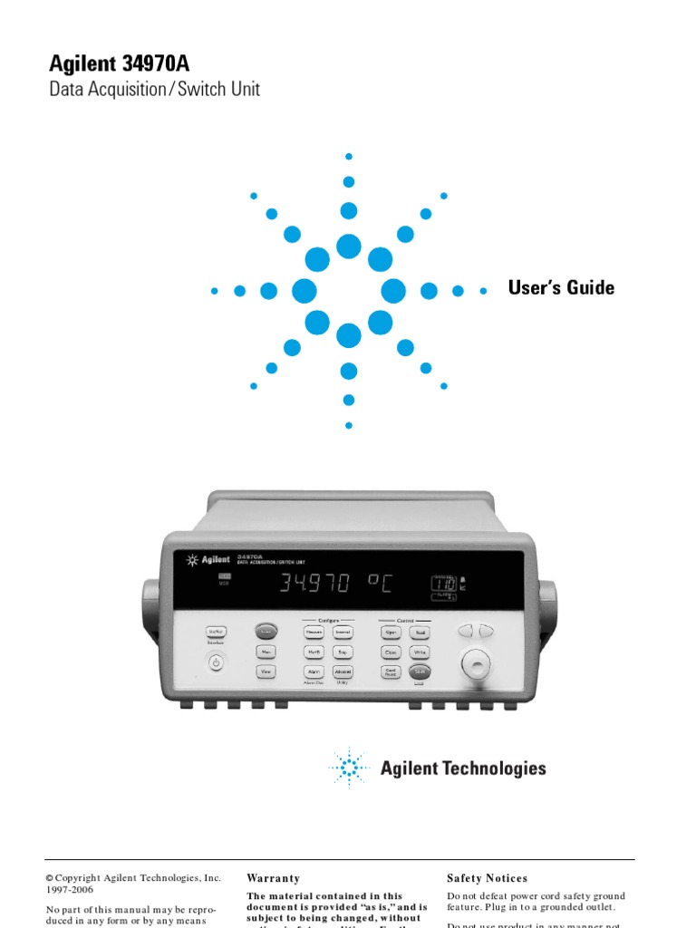agilent 34970a menu computing switch rh scribd com agilent 34970a service manual agilent 34970a manual download