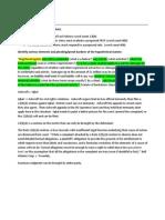 Civil Procedure II Final Review