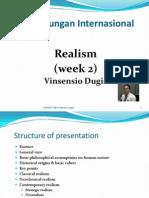 THI - Week II Realism