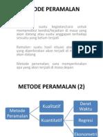 METODE PERAMALAN