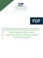 GUI2005 déchetteries & évaluation du risque sanitaire _FR