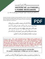 Les conditions de la parure de la femme musulmane