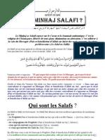 Qu'est-ce que le Minhaj Salafi?