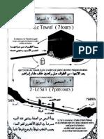 Schéma des rites du Hajj