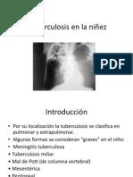 Tuberculosis en La Niez