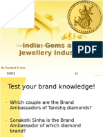 An Analysis of the Gems & Jewellery Industry in India