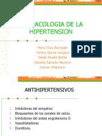 Farmacologia de La Hta