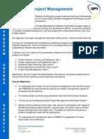 APM Program Overview