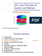 2. Matlab Variables