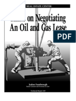 Oil and Gas Lease Hints