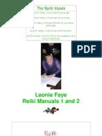 Reiki Manuals 1 + 2 - Leonie Faye PDF