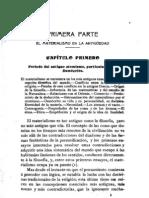 Federico Alberto Lange, Historia del materialismo, Madrid 1903, tomo 1, páginas 33-61