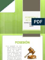 POSESIÓN Y ACCIONES expo
