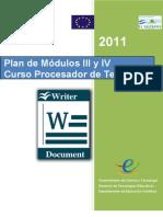 Plan de Modulos III y IV