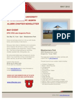dfwutes newsletter may 2012