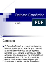 Derecho Económico 2012