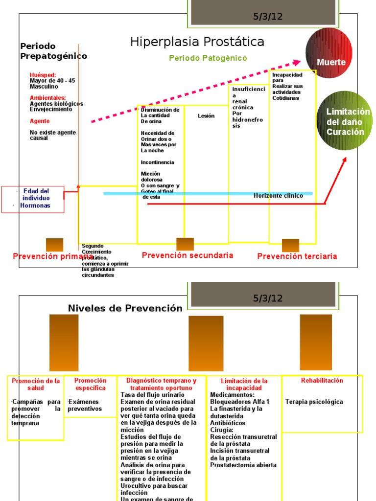 el análisis clínico verifica la próstata