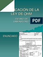 Ensayo Ley de Ohm