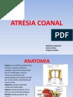 ATRESIA COANAL